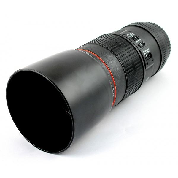 Термостакан в виде объектива от фотоаппарата