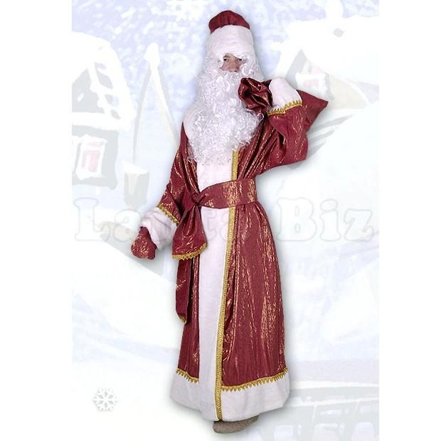Костюм Деда Мороза (парча красная)