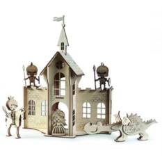 3D конструктор Сказочный замок