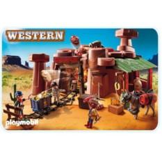 Конструктор Playmobil Western Золотой прииск