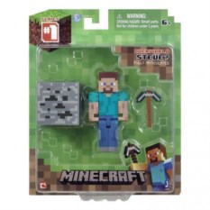 Фигурка Стив с Киркой из Minecraft