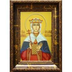 Икона с кристаллами Swarovski Людмила