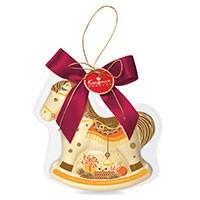 Елочная игрушка из шоколада «Лошадка»