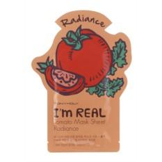 Тканевая маска для лица с томатом I'm Real Томато Mask Sheet
