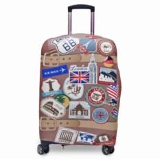 Чехол для чемодана из неоспана Винтаж