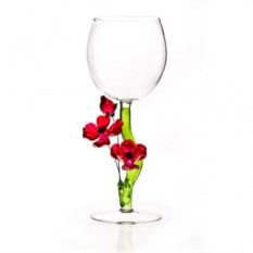 Бокал для вина Красные маки