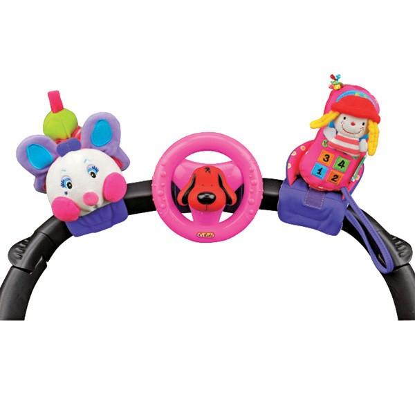 Набор развивающих игрушек для коляски
