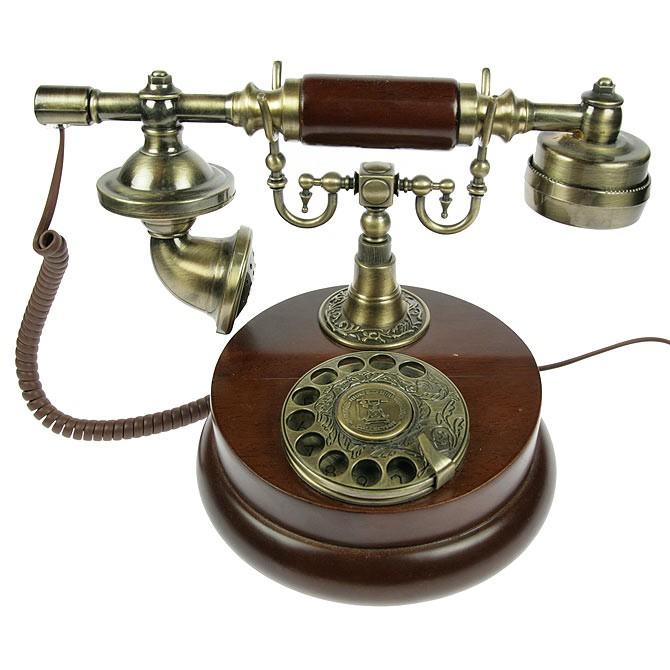 Телефон ретро настольный
