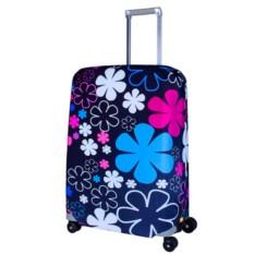 Чехол на чемодан Цветочный джаз
