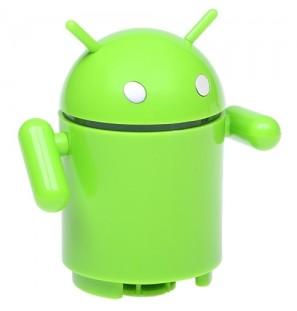 Портативная колонка «Андроид»