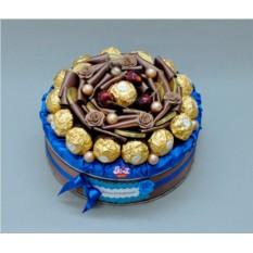 Букет из конфет Шоколадный тортик