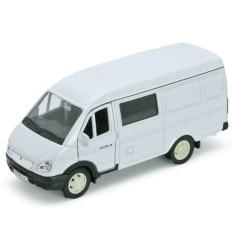 Модель машины Welly ГАЗель фургон с окном
