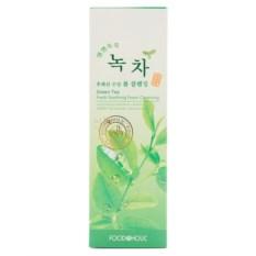Очищающая пенка с зеленым чаем от FoodаHolic