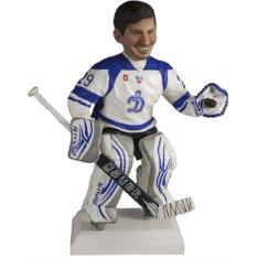Подарок хоккеисту по фото Хранитель ворот 30 см