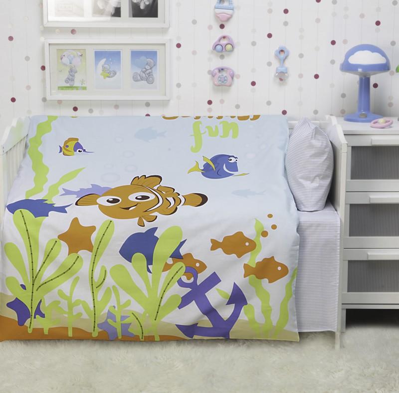 Комплект постельного белья Немо - малыш (ясельный)