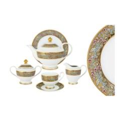 Чайный сервиз Розовый берег из 23 предметов на 6 персон