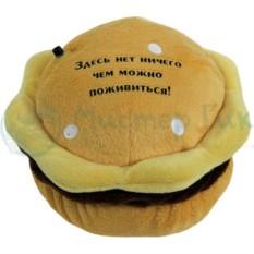Говорящий магнит на холодильник Гамбургер для похудения