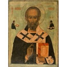 Копия иконы Николай Мирликийский Святитель Чудотворец