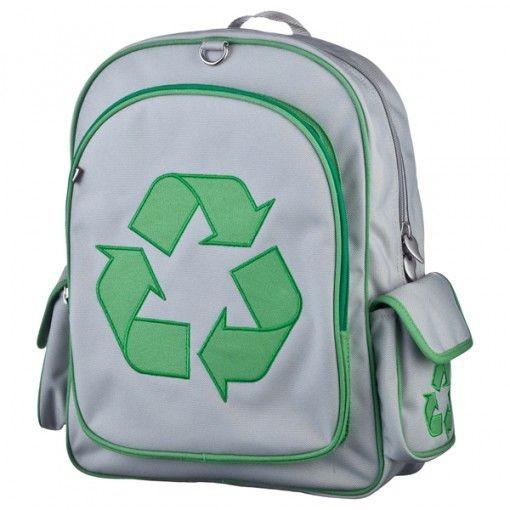 Эко-рюкзак для детей большой Recycle