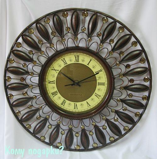Часы настенные Леопард