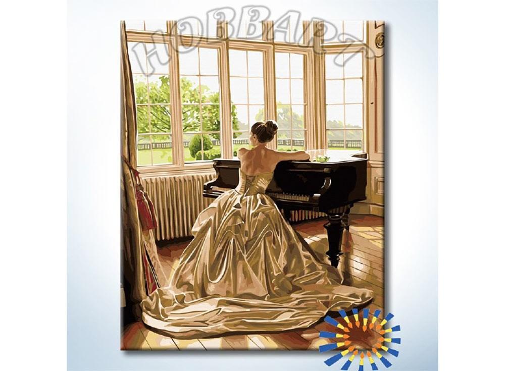Картины по номерам «За роялем»