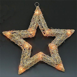 Звезда плетеная