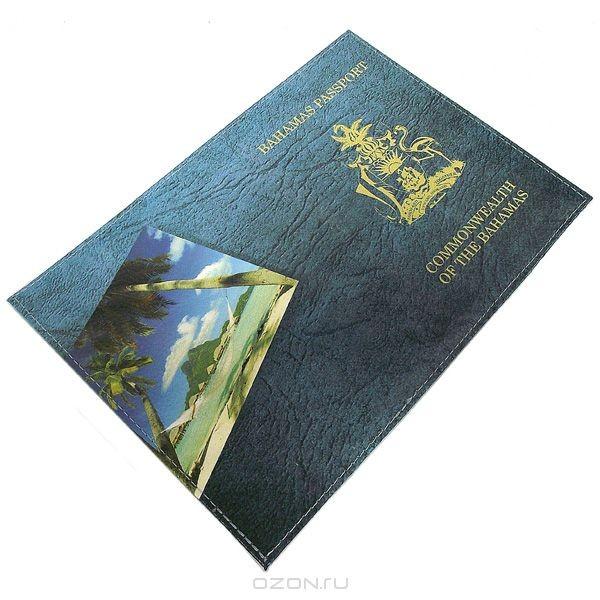 Обложка для паспорта Багамы