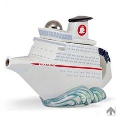 Фарфоровый чайник Круизный лайнер