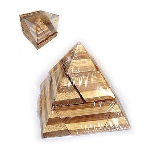 Головоломка из бамбука Pyramid