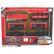 Детская железная дорога со светом и звуком