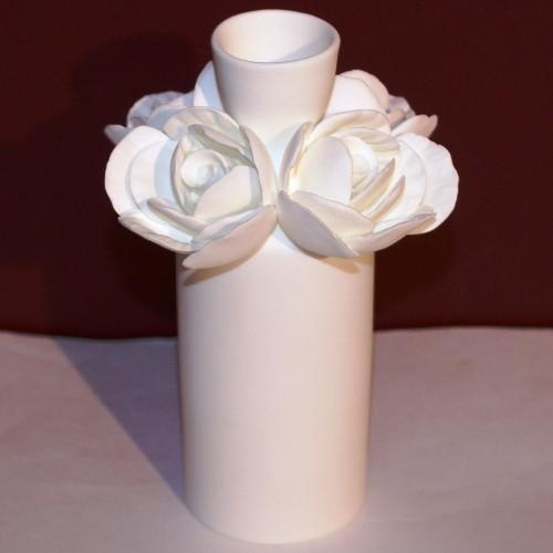 Ваза-бутыль Роза