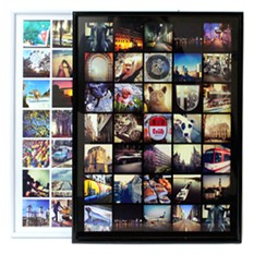 Постер в рамке с вашими изображениями