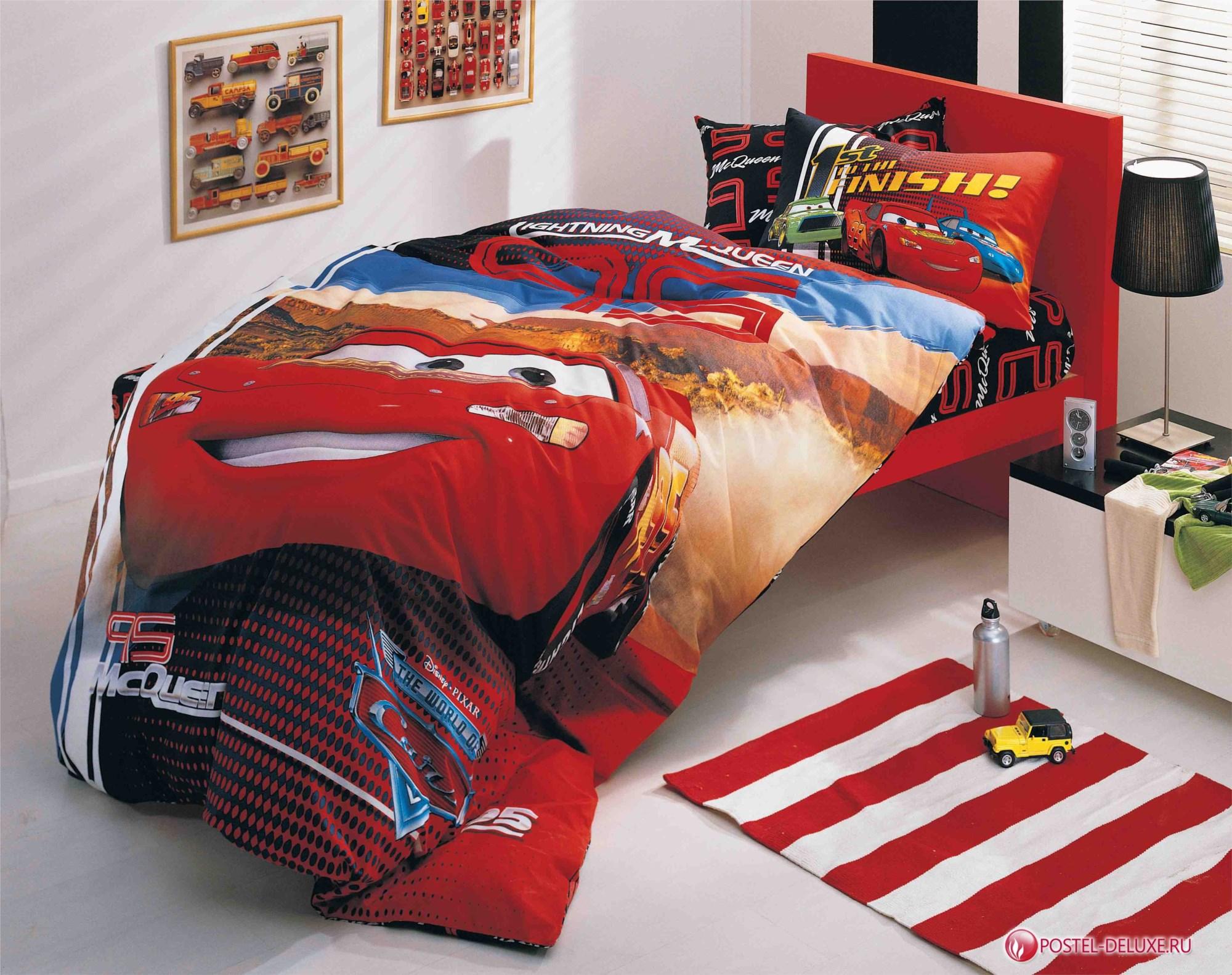 Детское постельное белье TAC Disney The Cars McQueen