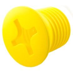 Желтый светильник Винт
