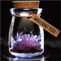 Кристалл в баночке Мистик (фиолетовый)