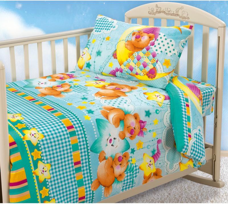 Комплект постельного белья Звездная ночь (ясельный)