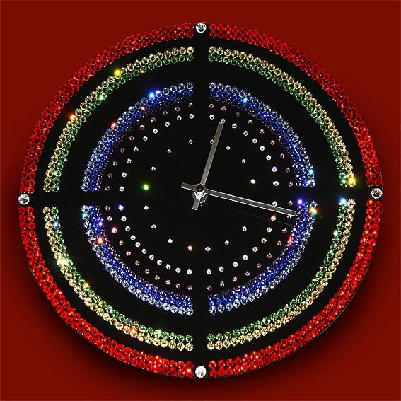 Часы с кристаллами Swarovski Мишень