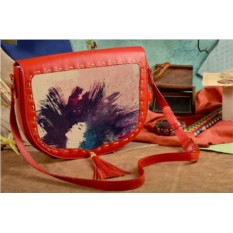 Женская сумка-седло В душе я танцую