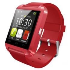 Красные умные часы Smart Watch U8