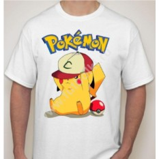 Мужская футболка Пикачу go