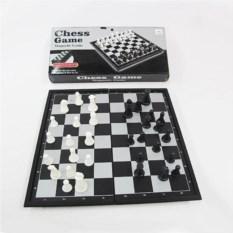 Магнитная дорожная настольная игра Шахматы, размер 19х10см