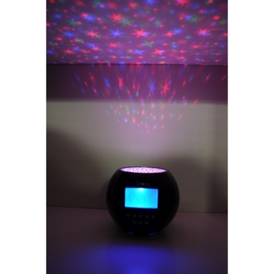 Звездный проектор с будильником