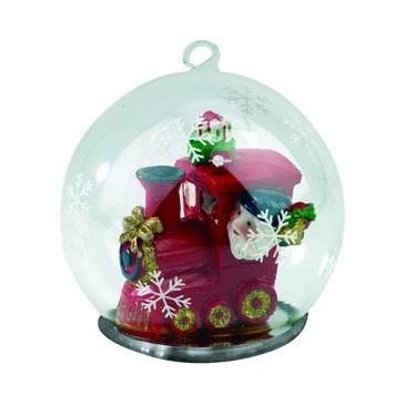Новогодний шар с Дедом Морозом