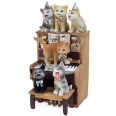 Музыкальное украшение для интерьера Хор котят