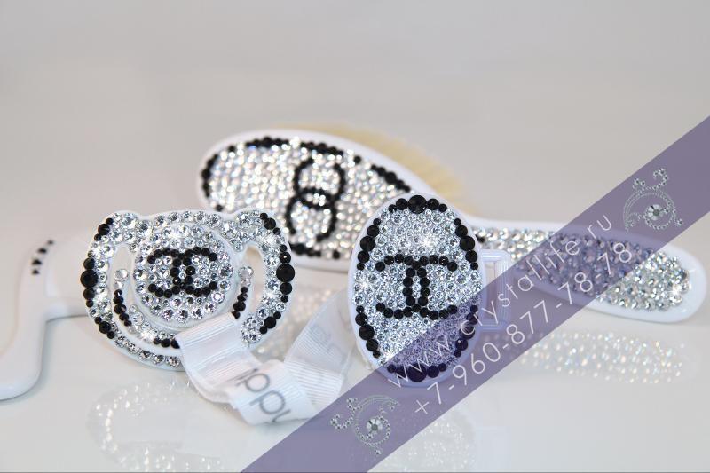 Подарочный комплект Сваровски Chanel Avent