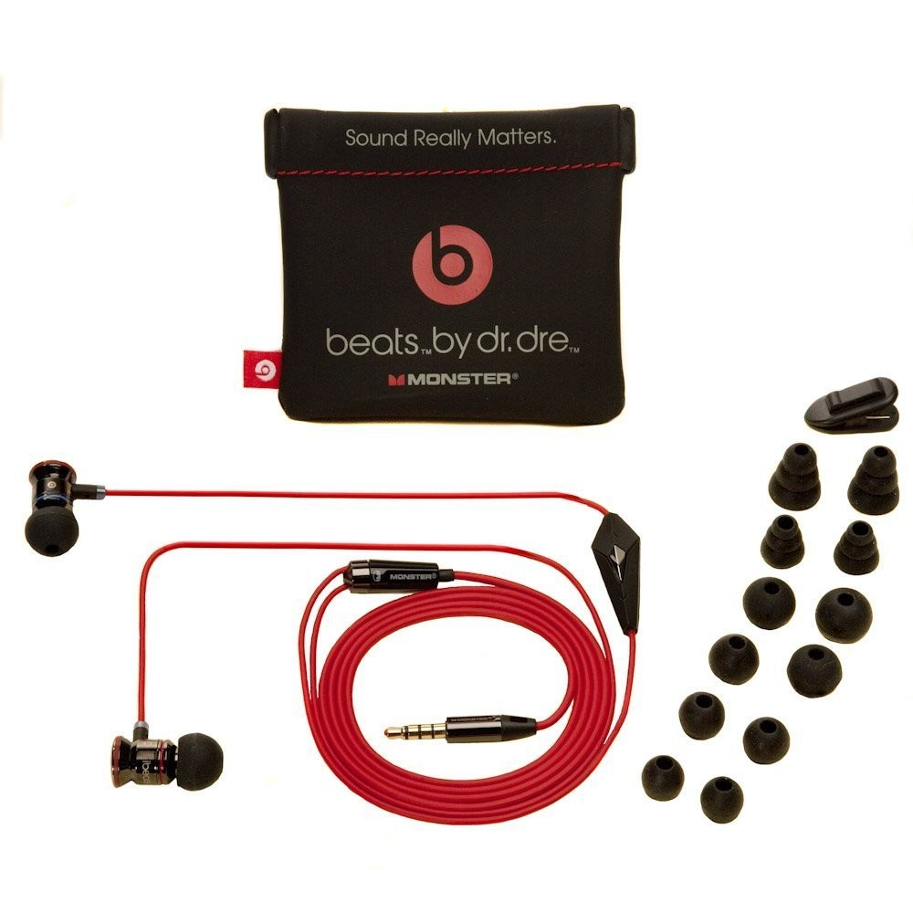 Наушники Monster Beats by Dr. Dre iBeats White