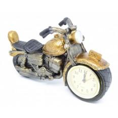 Часы настольные Мотоцикл ретро