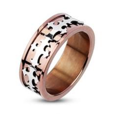 Мужское кольцо из стали Spikes Крест