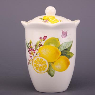 Банка для пищевых продуктов «Лимон»
