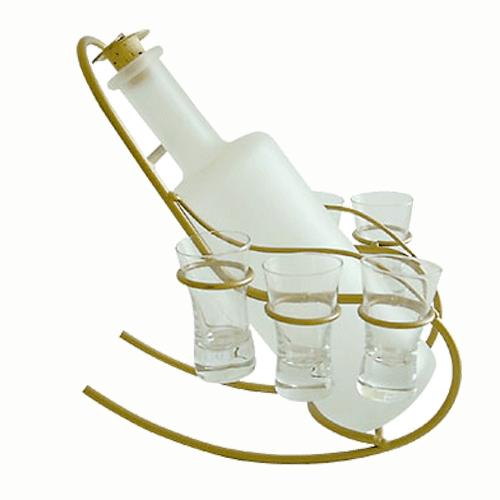 Бутыль с рюмками  «Кресло-качалка»